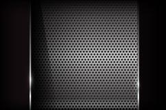 Dunkle Chromstahl-Zusammenfassungshintergrund-Vektorillustration eps10 lizenzfreie abbildung