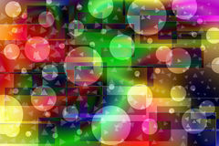Dunkle Farbe-bokeh Hintergrund Lizenzfreie Stockfotos