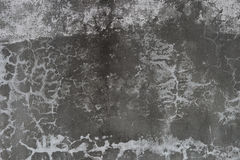 Dunkle gebrochene Wand Stockfoto