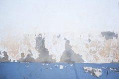 Dunkle Gips-Wand mit schmutzigem weißem Hintergrund Lizenzfreie Stockbilder