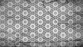 Dunkle Gray Geometric Ornament Wallpaper Pattern-Entwurfs-Schablone lizenzfreie abbildung