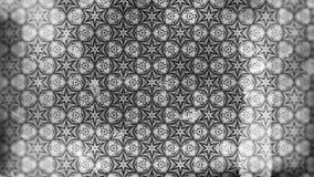 Dunkle Gray Vintage Decorative Floral Pattern-Tapete lizenzfreie abbildung