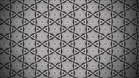 Dunkle Grey Vintage Floral Pattern Texture-Hintergrund-Schablone vektor abbildung