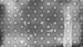 Dunkle Grey Vintage Floral Pattern Wallpaper-Entwurfs-Schablone stock abbildung