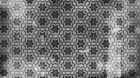 Dunkle Grey Vintage Floral Pattern Wallpaper-Entwurfs-Schablonen-schöne elegante Illustration stock abbildung