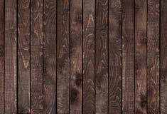 Dunkle hölzerne Beschaffenheit Alte und ruinierte Platten des Hintergrundes stockfotografie