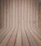 Dunkle hölzerne Planke Stockbild
