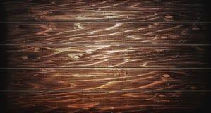 Dunkle hohe hölzerne Beschaffenheit Hölzerne braune Beschaffenheit alte Panels des Hintergrundes Retro- Holztisch Rustikaler Hint lizenzfreie stockfotos