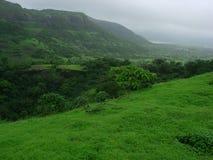 Dunkle Monsun-Landschaft stockfotos