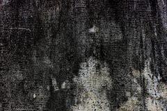 Dunkle raue Schmutzoberfläche der Grungy konkreten Bratenfettwand des Beschaffenheitshintergrundes stockfotografie