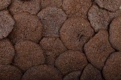 Dunkle Schokoladenkekse Stockfoto