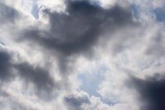Dunkle Wolke Stockbild
