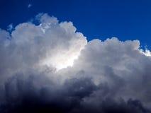 Dunkle Wolken Stockbilder