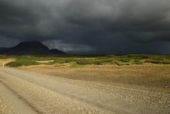 Dunkle Wolken vor Sturm Lizenzfreie Stockfotografie