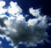 Dunklen Himmels Stockfotografie