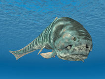 Dunkleosteus Royalty Free Stock Photography