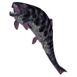 Dunkleosteus  Fish on White Stock Photography
