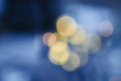 Dunkler Überlagerungshintergrund von blauen LED-Lichtern stockfotografie