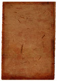 Dunkler Brown-Büttenpapierhintergrund Lizenzfreie Stockfotografie