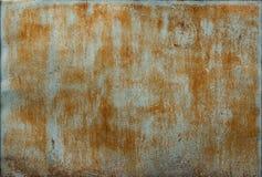 Dunkler getragener rostiger Metallbeschaffenheitshintergrund lizenzfreie stockfotos