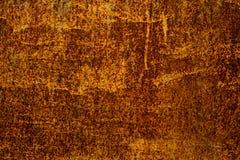 Dunkler getragener rostiger Metallbeschaffenheitshintergrund grunge Metallisch Dunkle rostige Metallbeschaffenheit Weinlese-Effek stockfoto