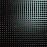 Dunkler glänzender futuristischer metallischer Hintergrund Lizenzfreie Stockbilder
