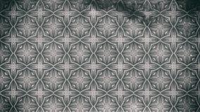Dunkler Gray Ornamental Vintage Background Pattern lizenzfreie abbildung