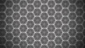 Dunkler Gray Vintage Floral Background Pattern vektor abbildung