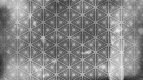 Dunkler Gray Vintage Floral Pattern Wallpaper lizenzfreie abbildung