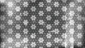 Dunkler Gray Vintage Flower Background Pattern vektor abbildung