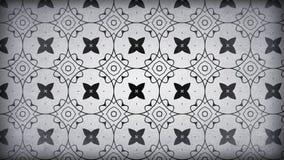 Dunkler Gray Vintage Wallpaper Background stock abbildung