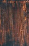 Dunkler hölzerner Hintergrund Stockbild