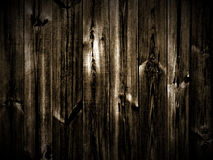 Dunkler hölzerner Hintergrund Stockfotografie