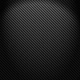 Dunkler Kohlenstofffaser-Webarthintergrund Stockbild