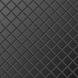 Dunkler Metallhintergrund mit Gitter Stockfotos