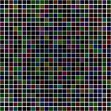 Dunkler Pixelmosaikhintergrund Stockfotografie