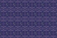 Dunkler purpurroter Hintergrund mit einem lila Muster Lizenzfreie Stockfotografie