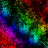 Dunkler Regenbogen Lizenzfreies Stockbild