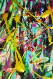 Dunkler rosa purpurroter Abstraktionshintergrund der flüssigen Bürste streicht Farbe Aquarellfarben-Zusammenfassungshintergrund Stockbild