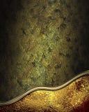 Dunkler schäbiger Hintergrund mit elegantem rotem Ausschnitt Element für Entwurf Schablone für Entwurf kopieren Sie Raum für Anze Stockfotografie