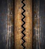 Dunkler Schmutz-Metallhintergrund lizenzfreie abbildung