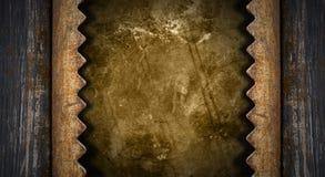 Dunkler Schmutz-Metallhintergrund stock abbildung