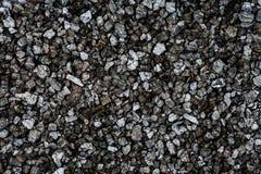 Dunkler silberner Stein des Hintergrundes Stockfotos