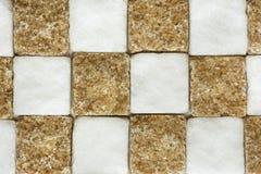 Dunkler Stock und raffinierter Zucker Lizenzfreie Stockfotografie