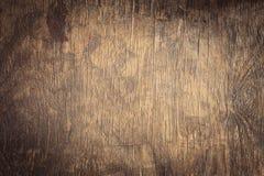 Dunkler strukturierter hölzerner Hintergrund des alten Schmutzes Lizenzfreie Stockfotografie