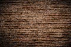 Dunkler strukturierter hölzerner Hintergrund des alten Schmutzes, die Oberfläche der alten braunen hölzernen Beschaffenheit, hölz Stockbild