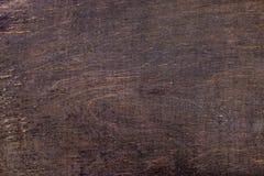 Dunkler strukturierter hölzerner Hintergrund des alten Schmutzes stockfoto
