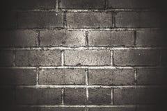 Dunkler Ziegelstein Stockfotografie