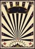 Dunkler Zirkus Stockfotografie