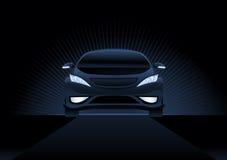 Dunkles Auto vektor abbildung